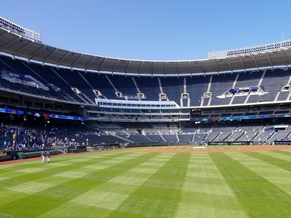 A great looking lawn t the K, in Kansas City, MO