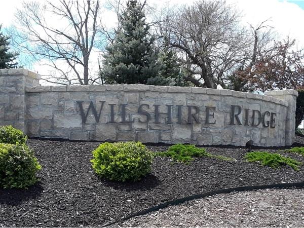 Wilshire Ridge Community in Overland Park