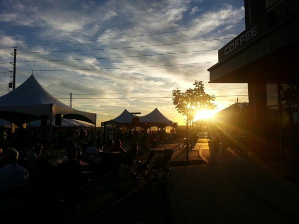 Longview Festival Sunset
