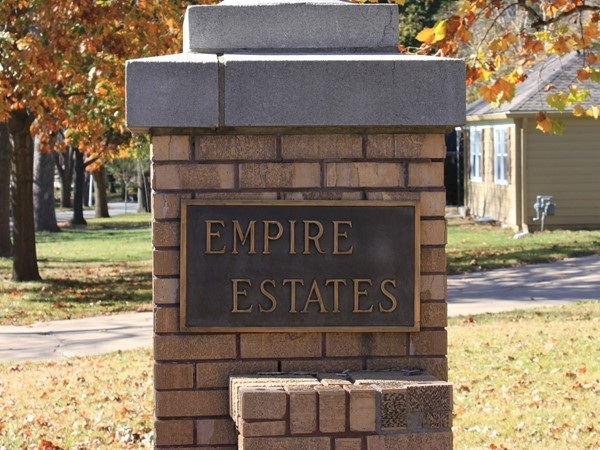 There are 305 homes in Empire Estates. It's located south of 95th Street and west of Mission Road