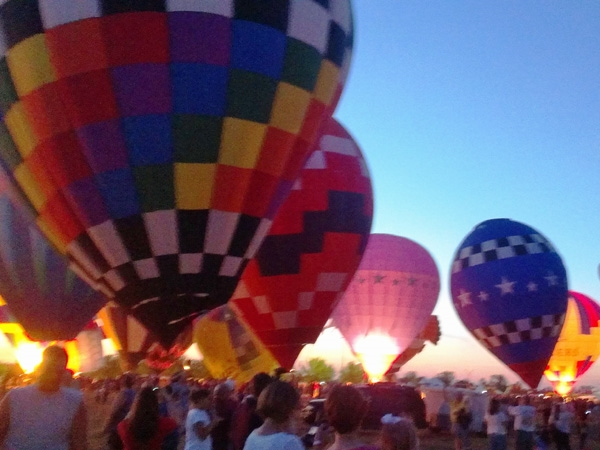 Balloon Glow Olathe, Kansas