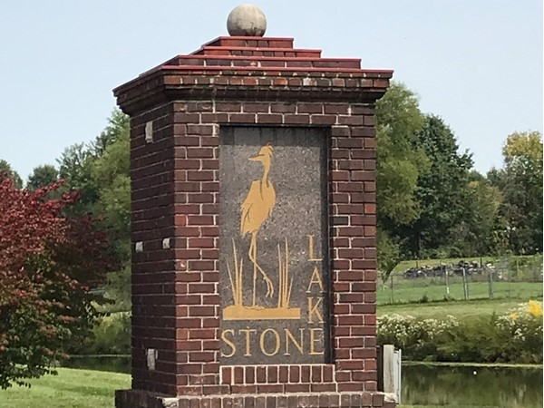 Stonelake entrance off 19th St a Beautiful community 20 minutes from downtown Kansas City