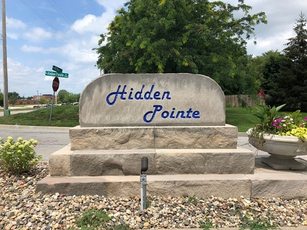 Hidden Pointe is close to schools and shopping