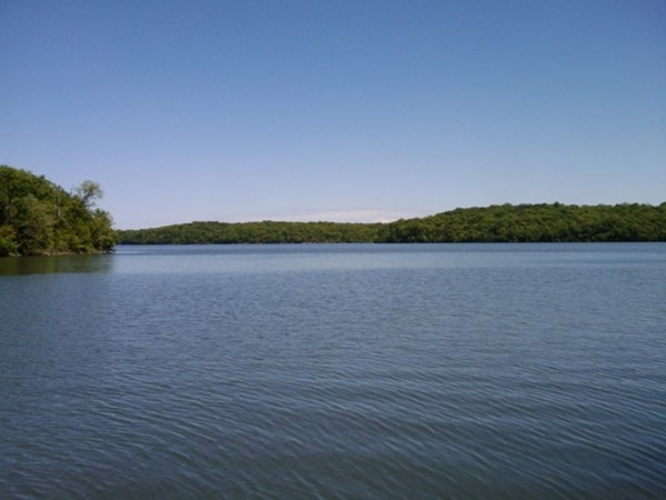 Open water on Lake Jacomo
