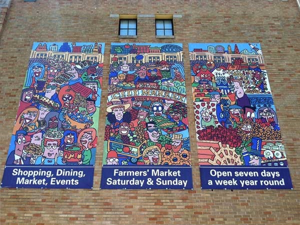 Rivermarket Wall Art