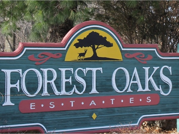 Forest Oaks Estates and new builds