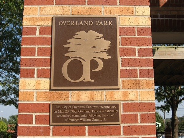 The City of Overland Park was incorporated in 1960