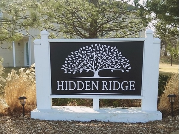 Hidden Ridge Town Homes.  A subdivision off of Valley View