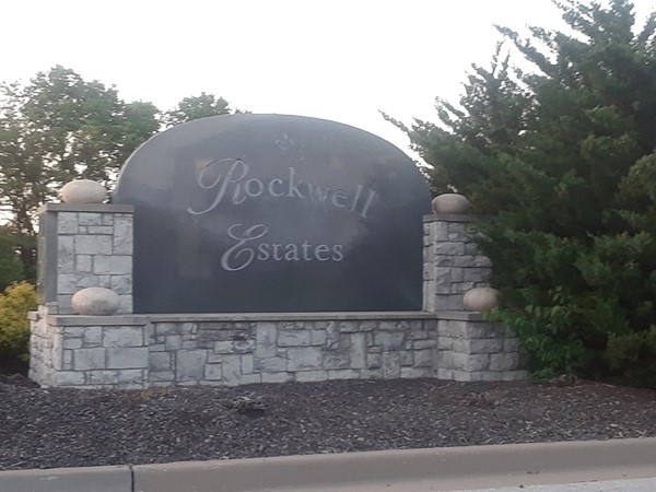 Still some new builds in Rockwell Estates