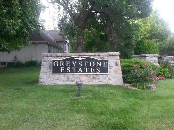 Greystone Estates Subdivision Entryway