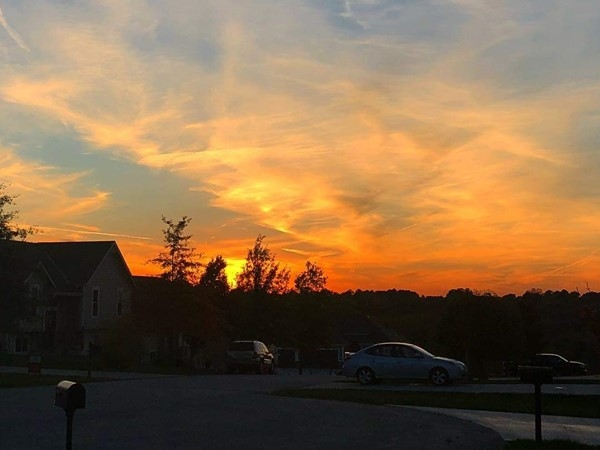 Ryan Meadows has some of the most beautiful views for sunsets. Gorgeous