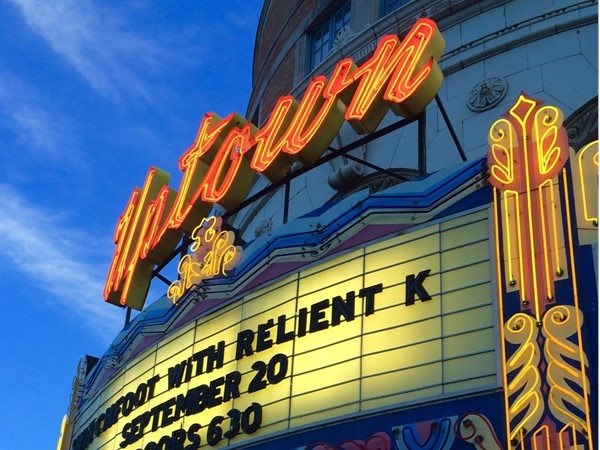 Check out a concert at the beautiful, historic Uptown Theater this fall