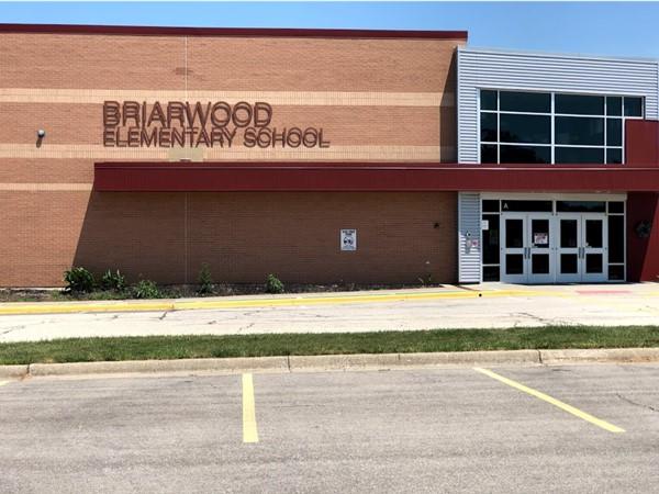Briarwood Elementary School is also nearby Estates of Ashton