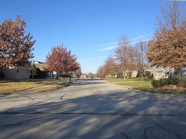 A beautiful fall day at Briarwood Oaks Estates