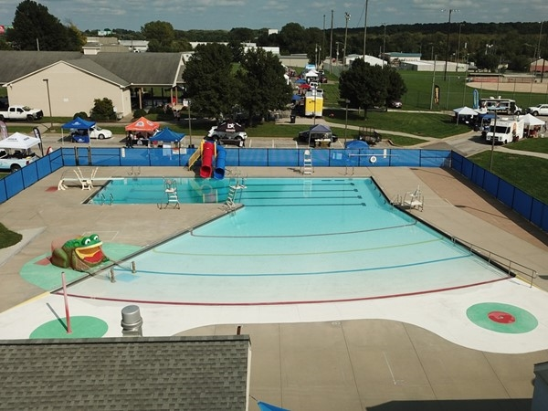 The Grain Valley public pool has something for everyone