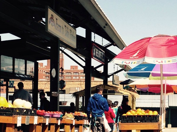Beautiful day and great cultural diversity at the River Market