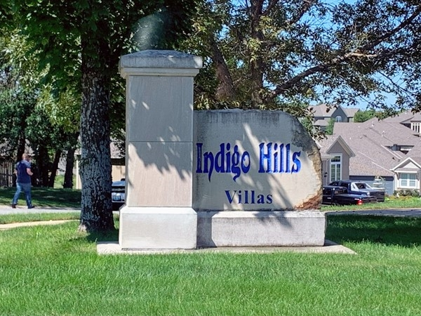 Indigo Hills Villas entrance