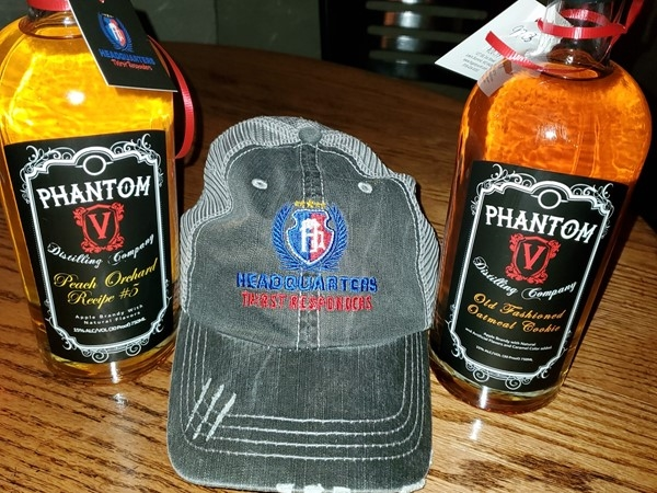 Had to stock up on Phantom V Brandy at Headquarters in Downtown Lee's Summit