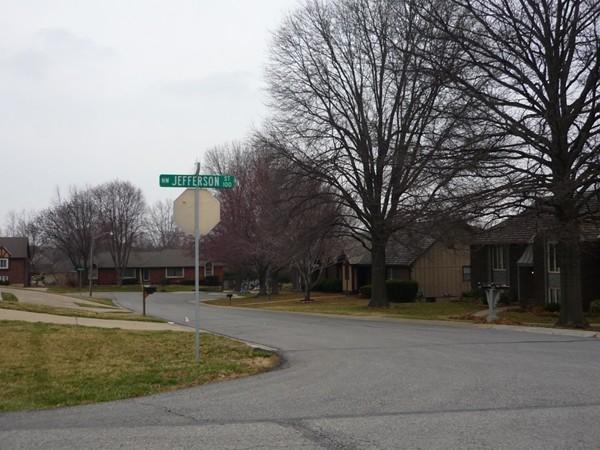 Northeast 3rd Street from Northwest Jefferson Street