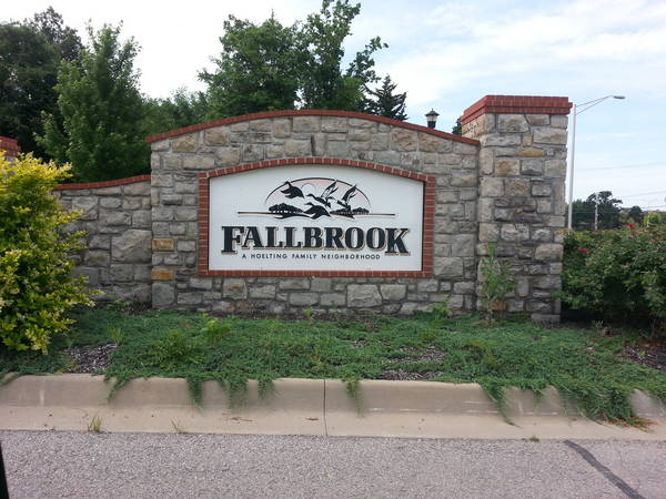 Fallbrook Subdivision in Northwest Olathe