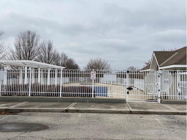 Pryor Meadows neighborhood pool