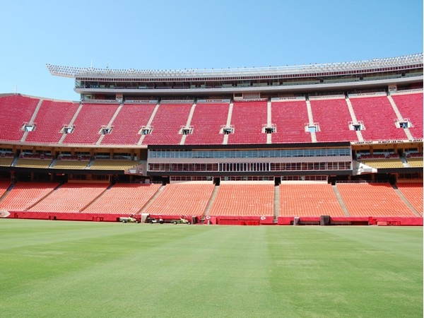 Chiefs Stadium - Quiet before the spirit of KC fills it!  2013 set the record for 136 decibels!