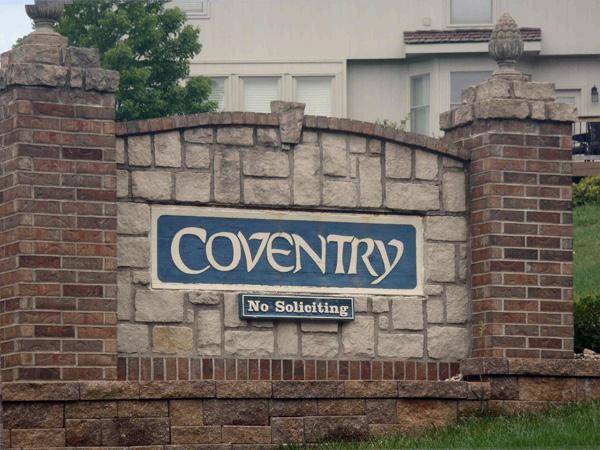 Coventry Subdivision