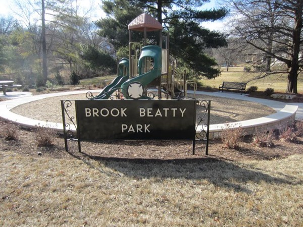 The Brook Beatty Park has a new look for spring