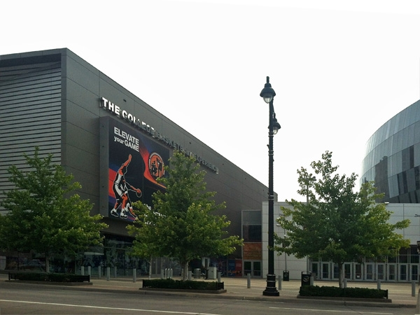 Experience college basketball at the Sprint Center