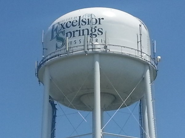Excelsior Springs watertower