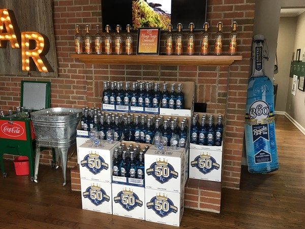 Find KC Royals theme berry flavored vodka at McCormick Distillery