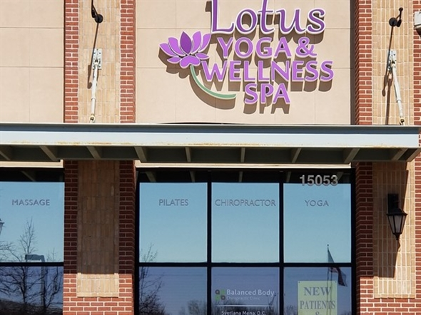 Lotus Yoga & Wellness Spa. Offering Yoga, Chiropractic, Acupuncture, Essential Oils