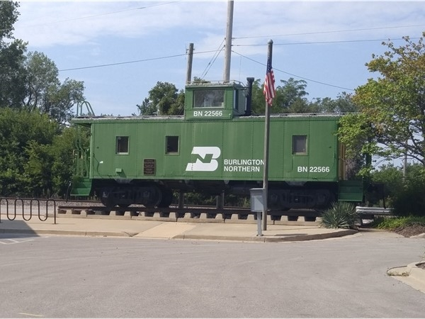 Caboose by City Hall