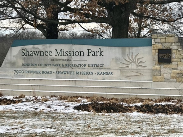 Shawnee Mission Park main entrance