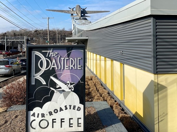Looking for a great place to get coffee? Support the local coffee shop, the Roasterie