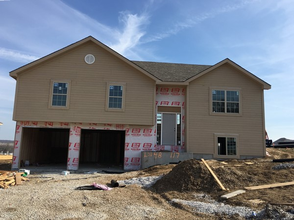 New homes are going up at Tracy in Riverview