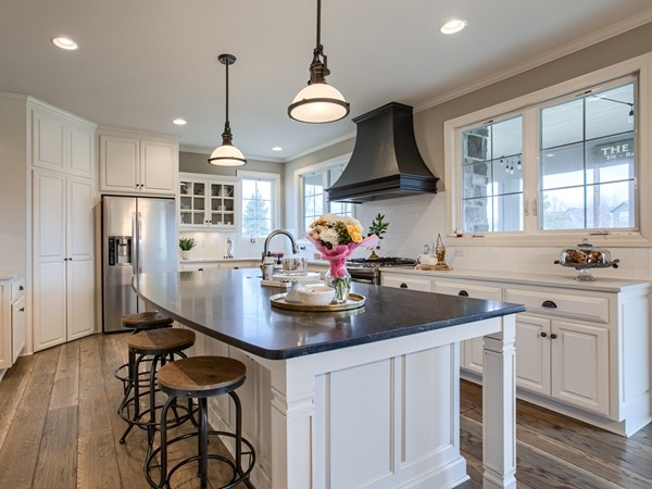 One of the most sought after floorplans, the Makenna! Check out the added windows in this kitchen!