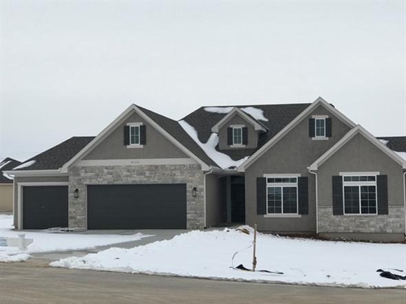 New home development in Arbor Ridge subdivision