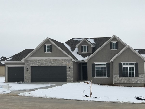 New home development in Arbor Ridge subdivision