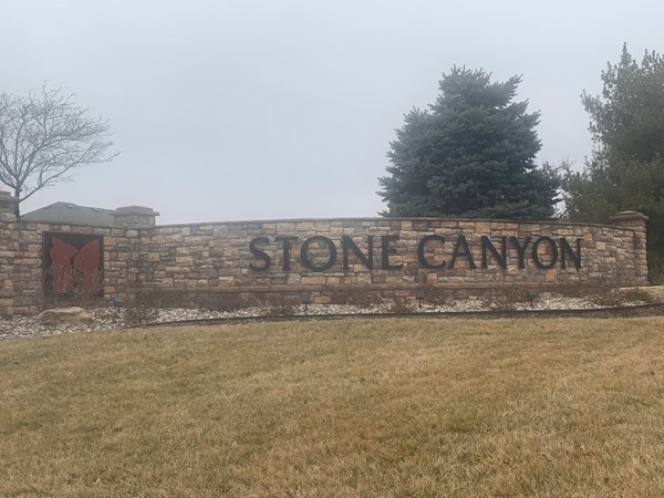 Lovely entrance into Stone Canyon