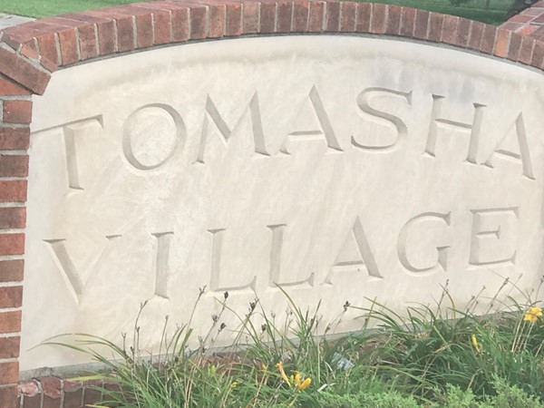 Homes in Tomasha have a community pool, tennis court, playground and walking park