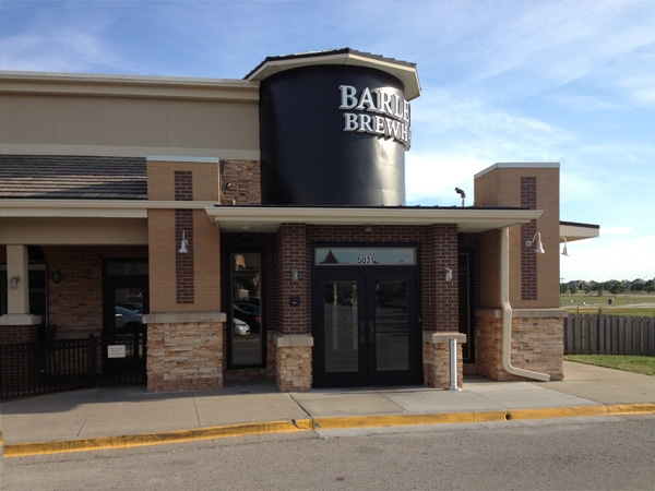 Barley's Brewhaus & KC Hopps, 135th & Nall, Cornerstone of Leawood