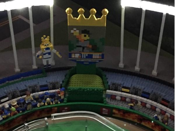 Lego Kauffman Stadium