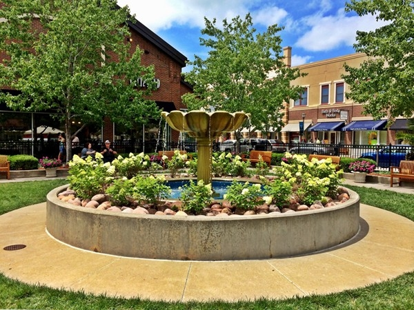 Shopping, dining and little areas to share coffee with a friend at Zona Rosa