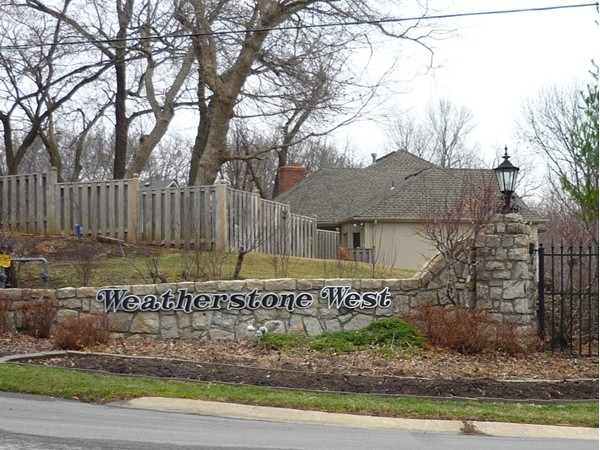 The sign at the entrance to Weatherstone West