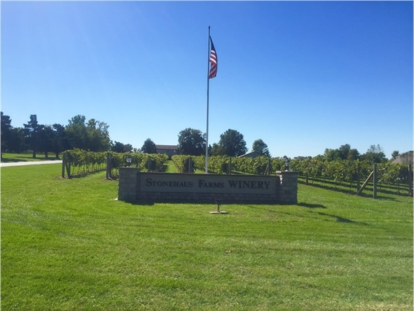Gorgeous winery conveniently located off of Colbern Road