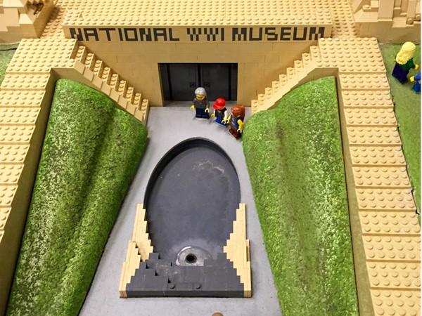 Lego model of WWI Museum