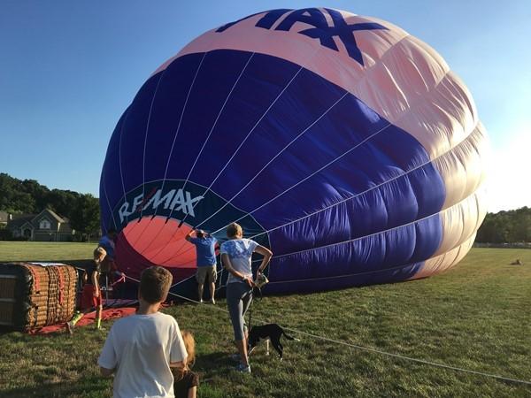 Annual Hot Air Ballon Ride