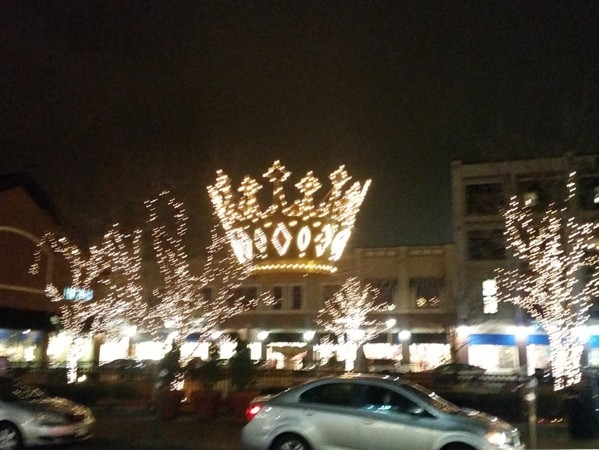 Beautiful lights in Zona Rosa