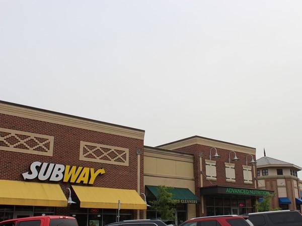 Shops near Longview CC
